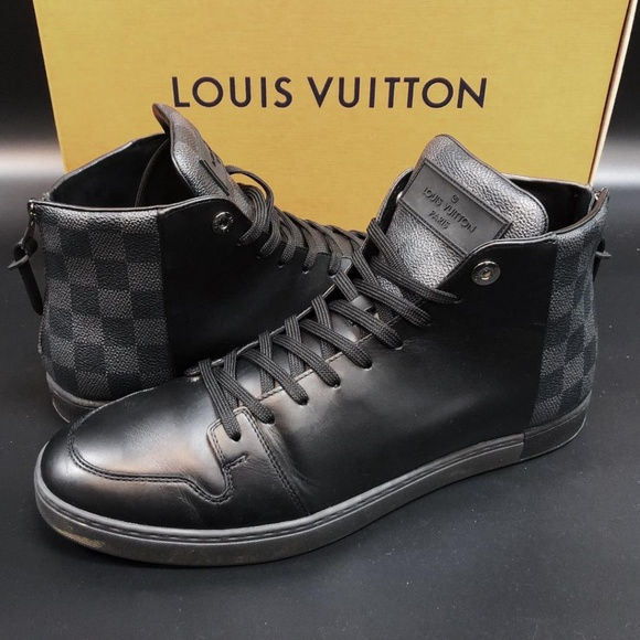 7bf5416ca8 Louis Vuitton | Damier Line-Up Sneaker Boot, Black